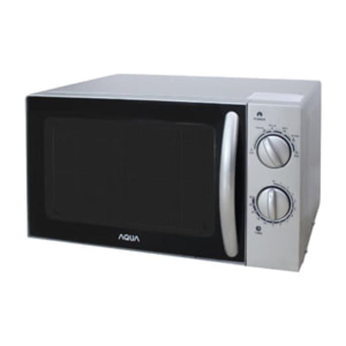 Aqua - Microwave 17 Liter 400 Watt Manual Aems1112s