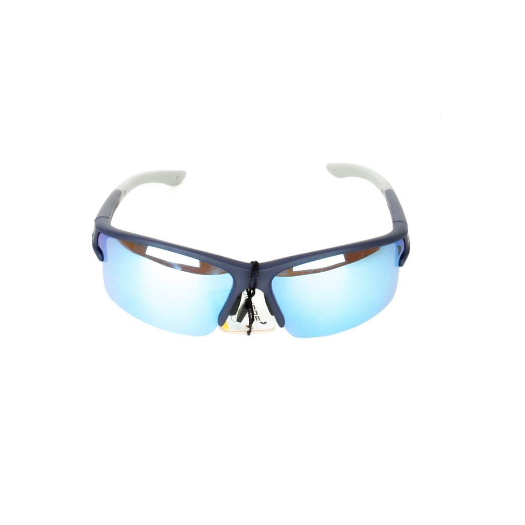 Kalibre 996139 Kacamata Hitam Lari Sepeda Polarized Anti UV Lensa Biru