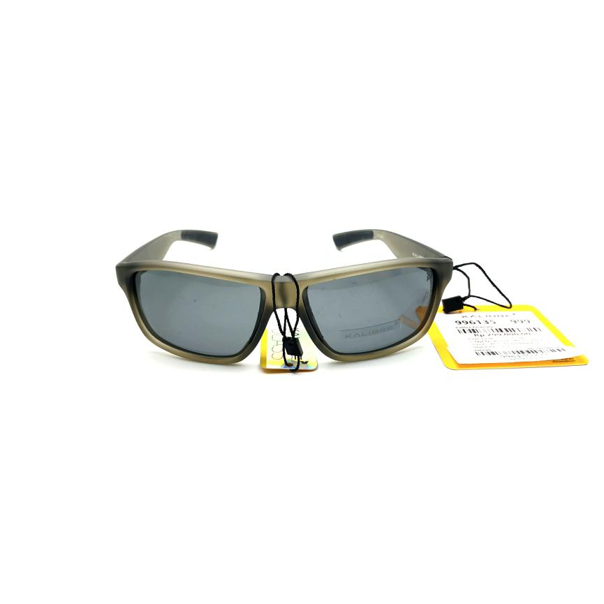 Kalibre 996135 Kacamata Abu Sunglasses Polarized Anti UV Lensa Hitam