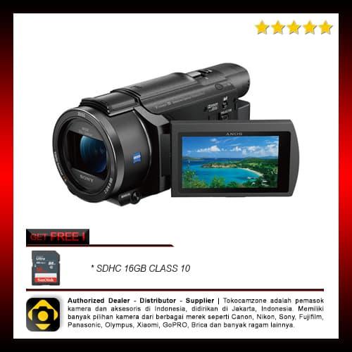 Sony FDR - AXP55 4K Handycam with Built - in projector