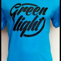 Kaos pria/Tshirt/T shirt Greenlight (light blue)