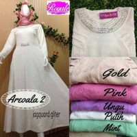 areola dress pesta muslim / supplier baju hijab