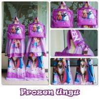 Mukena Anak Karakter Frozen Ungu XL