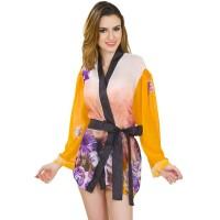 Kimono Lingerie / Baju Tidur Kimono Seksi Long Sleeves Kimono DL0864