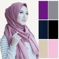 Hijab Wanita / Jilbab Baju Muslim Gamis Pasmina Diamon Cutting Syari
