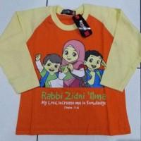 Kaos Anak Karakter Woozles Rabbi Zidni Ilma Orange soft