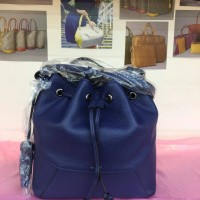 Tas Bonia Serut Polos Original warna biru