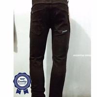 Celana Jeans Branded Kick Bandung Pensil/skinny/streach Coklat Co
