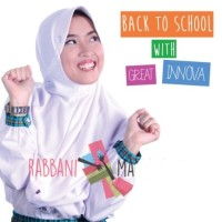 Kerudung Rabbani Great Innova ukurn L, Jilbab Bergo Anak Sekolah Grand