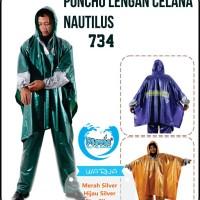 Jas Hujan PLEVIA Poncho Lengan Celana NAUTILUS 734