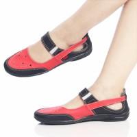 sepatu murah wanita cewek KICKERS grade ori France red