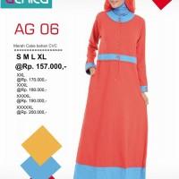 Murah&Berkualitas/Gamis Alnita AG-06/CVC