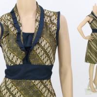 Dres Batik Murah Dress Model Terbaru Baju Kantor Batik Grosir