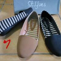 sepatu sandal cewek merk matahari department store flatshoes styves