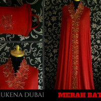 Grosir Mukena Cantik Mewah Elegan Murah Warna Merah Bata