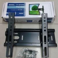 BREKET/ BRAKET TV LED /LCD 14-32 Inch ( Gantungan TV)