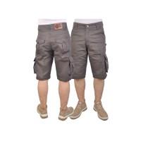 Celana Pendek Pria / Cargo / Outdoor / Army Pattern ISCx102 Grey