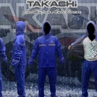 Jas Hujan Takachi Premium khusus Size S Berkualitas