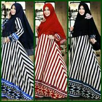 Hijab Modern Zola 2in1 ( Gamis Busui + Jilbab Khimar ) Limited Edition