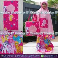 Jual Mukena anak motif My Little Pony Doty Pink