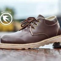 Jual Sepatu Pria Semi Boot Casual Moofeat Original Handmade Bandung CK