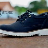 Jual Sepatu Pria Semi Boot Casual Moofeat Original Handmade Bandung BL