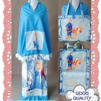 Mukena anak karakter Frozen Tosca uk. xs-xxl