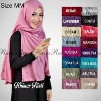 Hijab Khimar Risti Velvet