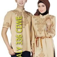 Baju Busana Muslim Koko Gamis Couple Pasangan JAVA 7 ALY 335 ALY 336
