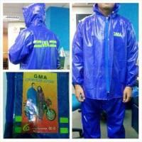 GMA Jas Hujan Karet PVC GMA Raincoat harga murah