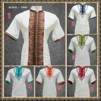 bg Baju Koko Tangan Pendek Putih