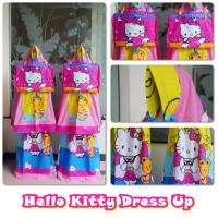 mukena anak karakter hello KITTY dress up  XL