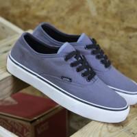 Sepatu Vans Authentic Waflle Icc ( Abu tali Hitam )