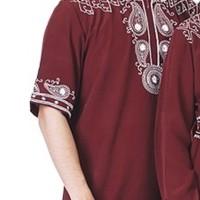 Baju Muslim Pria / Baju Koko Lengan Pendek (include couple)