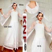 Kebaya barbie maxi long dress KNF-983