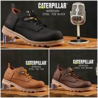 Caterpillar Safety , Sepatu Boot Safety ,Sepatu boot Safety Pria Murah