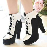 Sepatu Wedges Boots Wanita Sepatu Wanita Casual Sepatu Branded Jual