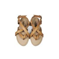 Sepatu Sendal Anak Perempuan Tamagoo-Adelia Tan Sandal Shoes Murah