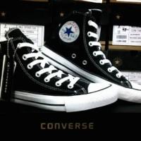 Sepatu Converse All Star High hitam + Box