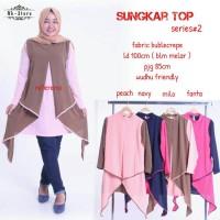 sungkar top / baju atasan hijab zaskia