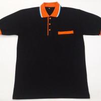 Baju Kaos Berkerah Pria/ Wanita/ Bahan Cotton