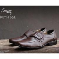 Sepatu Formal Pria/Pantofel Cevany/Sepatu Kulit Resmi Kantoran Murah