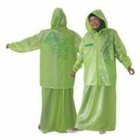 Jas Hujan Zahra- Khusus Wanita Bentuk Jaket Dan Rok