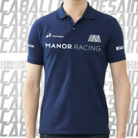 KAOS POLO BIG SIZE MANOR RACING XXXL
