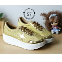 sandal sepatu wanita bintang sneakers