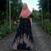 gamis syar'i original/busana muslim/pakaian wanita/baju