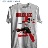 Kaos Bruce Lee 07 - Tag gildan tshirt
