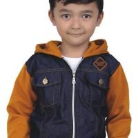 005CRC-CJ, jaket denim anak laki-laki, hoodie blue jeans anak cowok