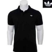 polo shirt adidas,t shirt,kaos polo tshirt adidas hitam