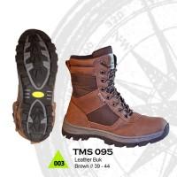 Sepatu Boots Pria Kulit Untuk Hikking dan Adventure Model Eiger Delta